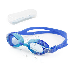 Swimming Goggles Boys, Swim Goggles for Kids Children Teenages Girls Glasses | No Leaking Anti Fog UV Protection with Protection Case