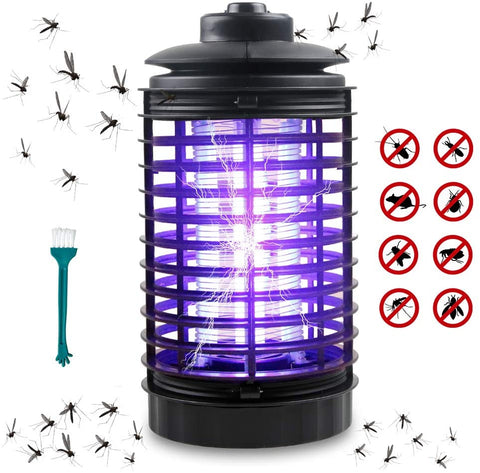 Innoo Tech Bug Zapper Trap Insect Killer -Indoor Insect Zapper Fly Trap - Fly Zapper Mosquito Killer Safe & Non-Toxic - Silent & Effortless Operation pest Control