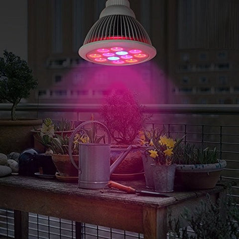 Indoor High Efficient Plant Grow LED Light Bulb