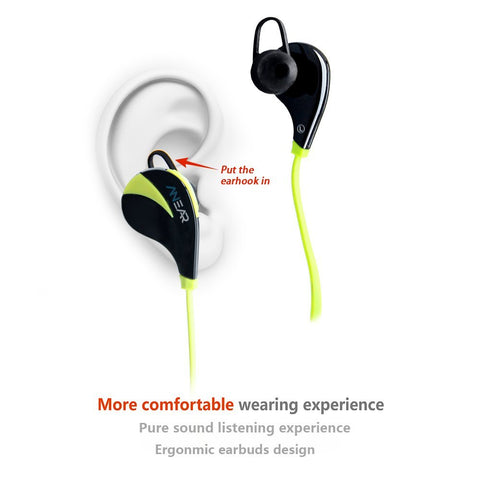 Stereo Wireless Bluetooth Sport Earphones