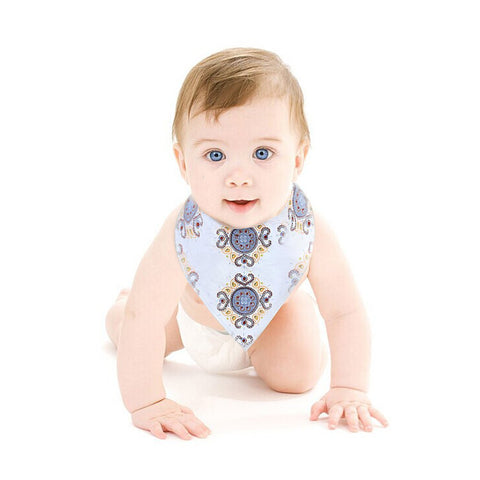 Unisex Soft Cotton Absorbent Baby Bandana Drool Bibs