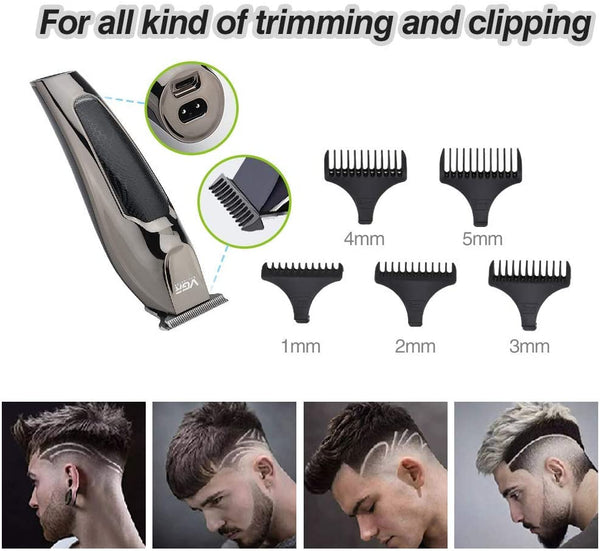 Innoo Tech Hair Clippers, Hair Trimmer for Men Self-Haircut 5W Powerful Electric Clippers with 1/2/3/4/5 mm Guide Combs Cordless Barber Clippers