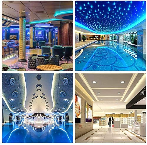 Innoo Tech LED Strips Lights, 5m(16.4ft) 300 LEDs IP65 Waterproof Dustproof Led Lights, SMD 5050 Mood Lights with Remote Control for Indoor and Outdoor Decoration