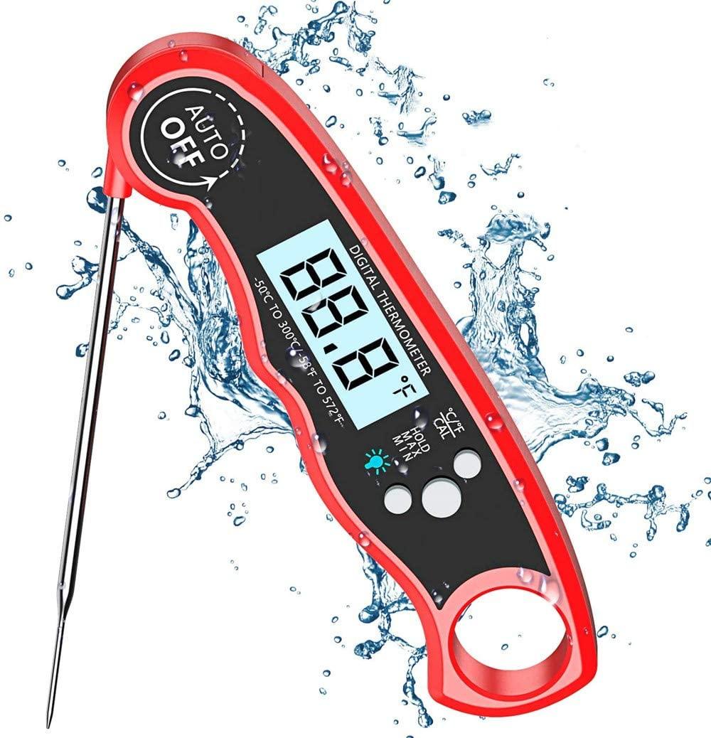 Innoo Tech Meat Thermometer, Digital Food Thermometer, Cooking Thermometer with High Accuracy, Instant Read Probe Thermometer for Kitchen Cooking, BBQ, Meat