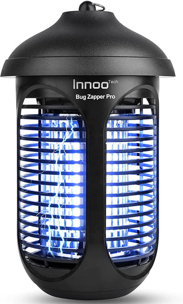 Innoo Tech Bug Zapper Up to 3000 Sq.ft & 4800V (3 Blubs/20W), Waterproof Mosquito Zapper Killer, Electric Fly Pest Attractant Trap for Indoors & Outdoors, Mosquito Killer for Home, Patio, Backyard