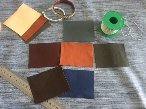 Reindeer Leather Colors.