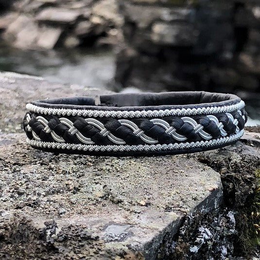 Pewter and leather bracelets for men, soft to wear, julevu.com