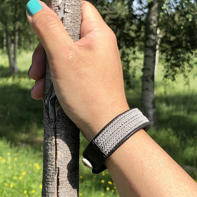 Beautiful Sami jewlry by Julevu Viking bracelet