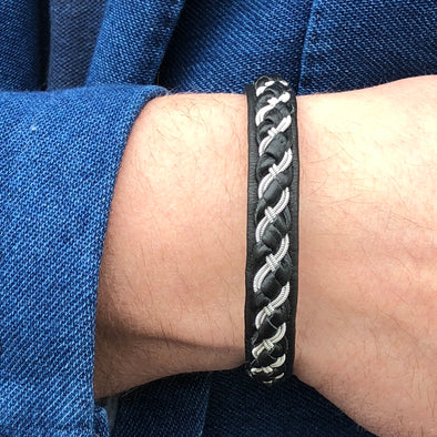 Popular men's bracelet, Swedish bracelet, Julevu handmade.Julevu gift for men handmade braclet men Lappland bracelet