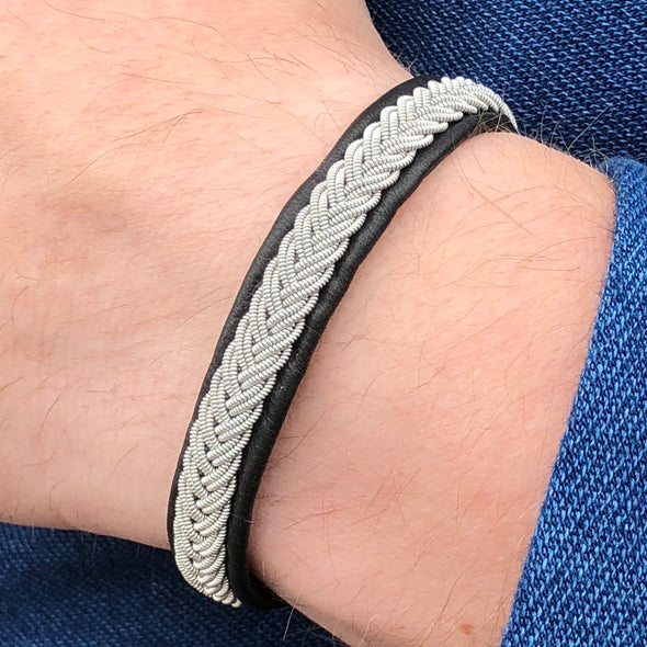 Popular men's bracelet, Sami style men's bracelet Julevu gift for men handmade braclet men Lappland bracelet