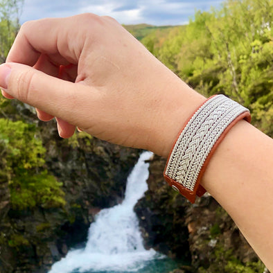 Exclusive Sami bracelet Josefina, made in Lulea Sweden.