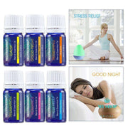 100% Pure Compound Essential Oils Fragrance for Body Massage Bath Aromatherapy Diffusers Relaxation Refreshing 10ml/pc 6pcs - myshoponline.com