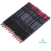 12Colors/Set Waterproof Lip Liner Pencil For Women - myshoponline.com