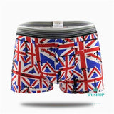 19 colors fashion design cotton Cartoon cuecas boxer men - myshoponline.com
