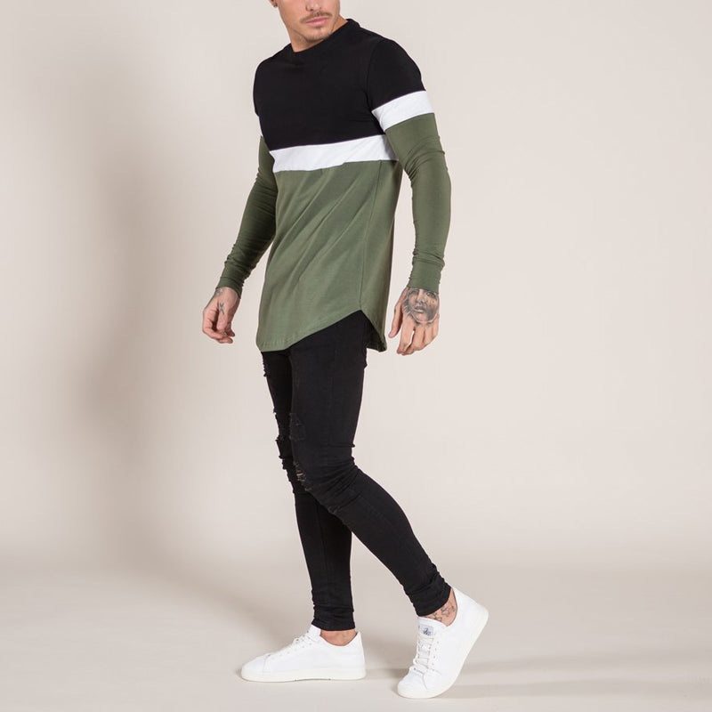 Large Size Mens Long Sleeve Shirts Slim Fit