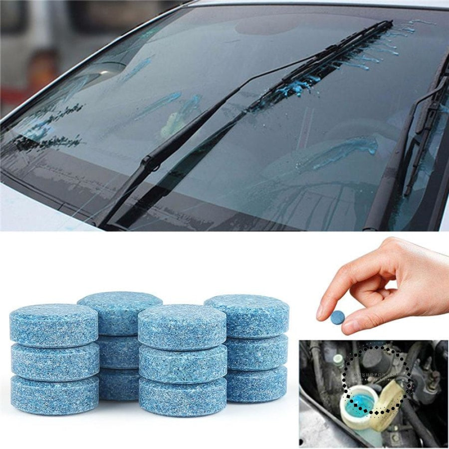1PCS =4L Liplsating Car Windshield Cleaning Car Accessories Glass Cleaner Car Solid Wiper Fine Wiper Car Auto Window Cleaning - myshoponline.com