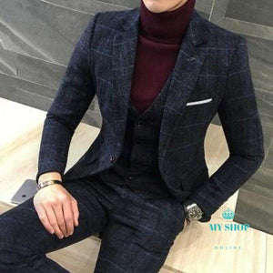 2 Piece Suits Men  Suit Autumn Winter