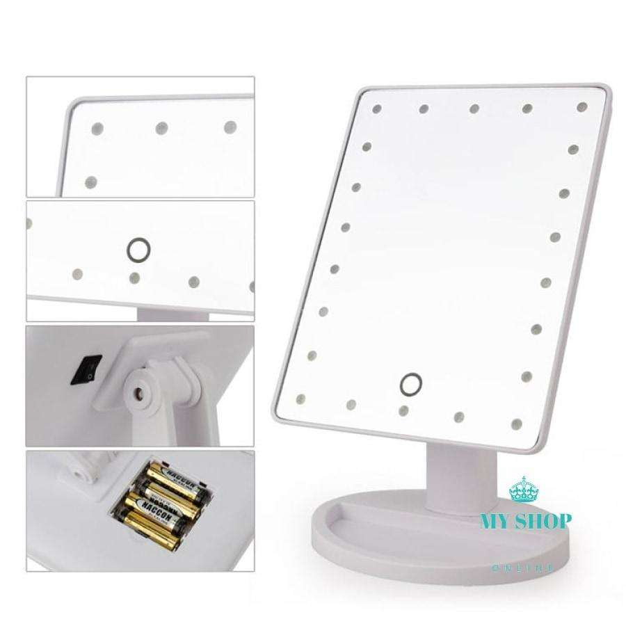 22 LED Touch Screen Makeup Mirror Professional Vanity Mirror Lights - myshoponline.com