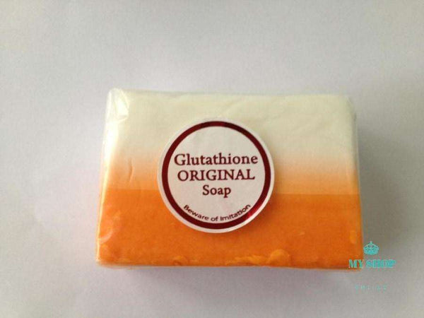 2pcs/lot KOJIC acid dual glutathione soap whitening/bleaching/lightening skin - myshoponline.com
