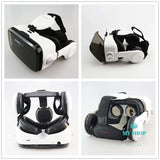 3D Cardboard Helmet Virtual Reality VR Glasses Headset Stereo Mobile Phone - myshoponline.com