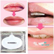 3pcs Crystal Collagen Lip Mask  Lips Enhancer - myshoponline.com