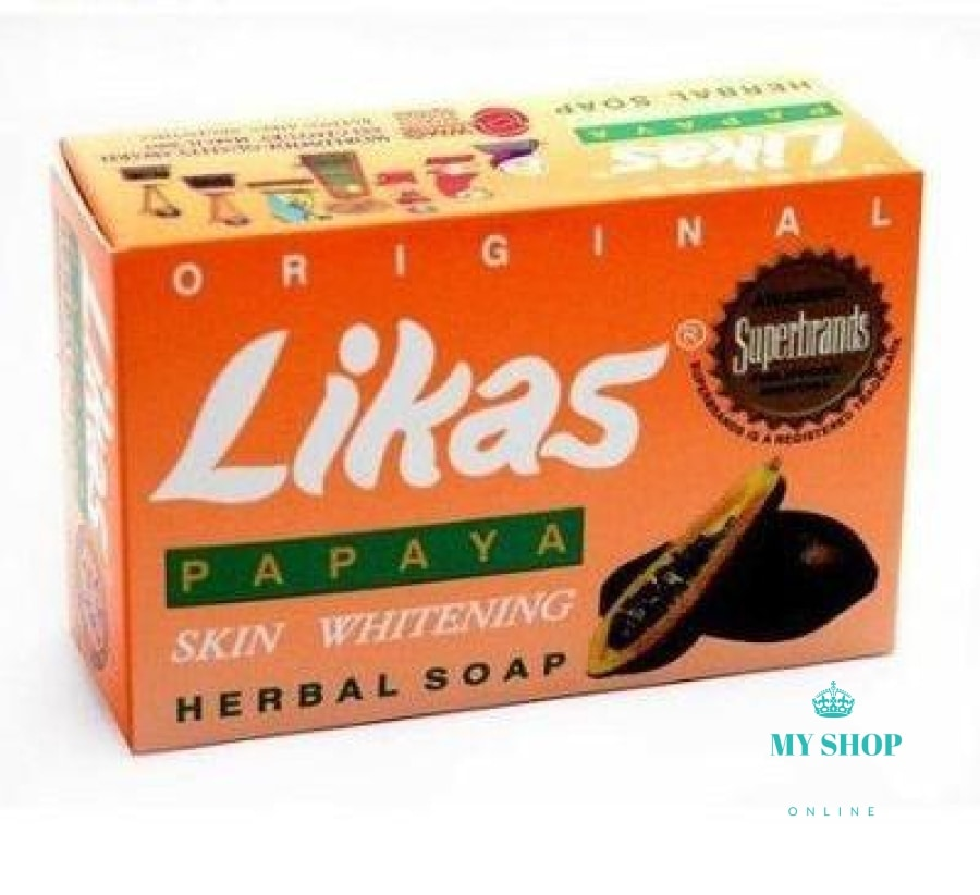 3pcs/lot Original Likas Papaya Soap Skin Whitening Lightening Herbal Soap for Body or Face Cleanser - myshoponline.com