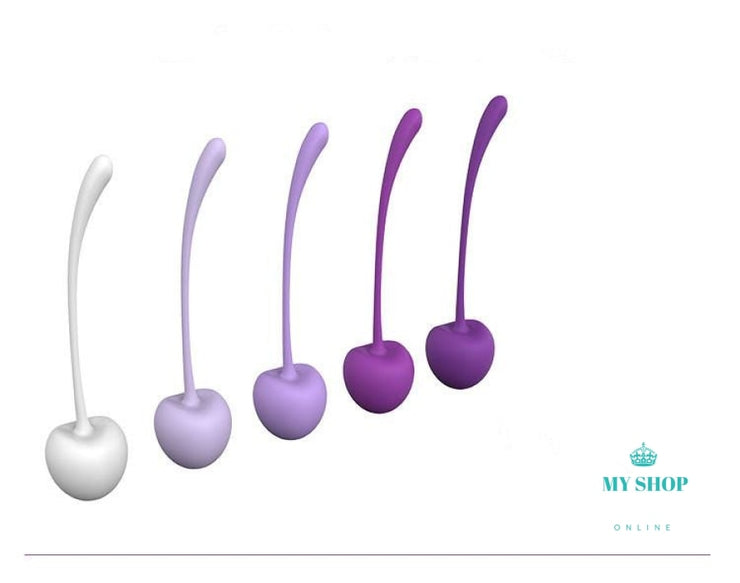 5Pcs/Set Kegel Balls Exercise Weight Kit Vagina Tight Trainer Silicone - myshoponline.com