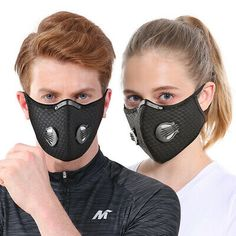 PM-2.5 Mask Pad Activated Carbon Filter For Air Cleaner Mouth + Face Cover