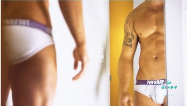 A Set 7pcs Men Underwears cotton - myshoponline.com