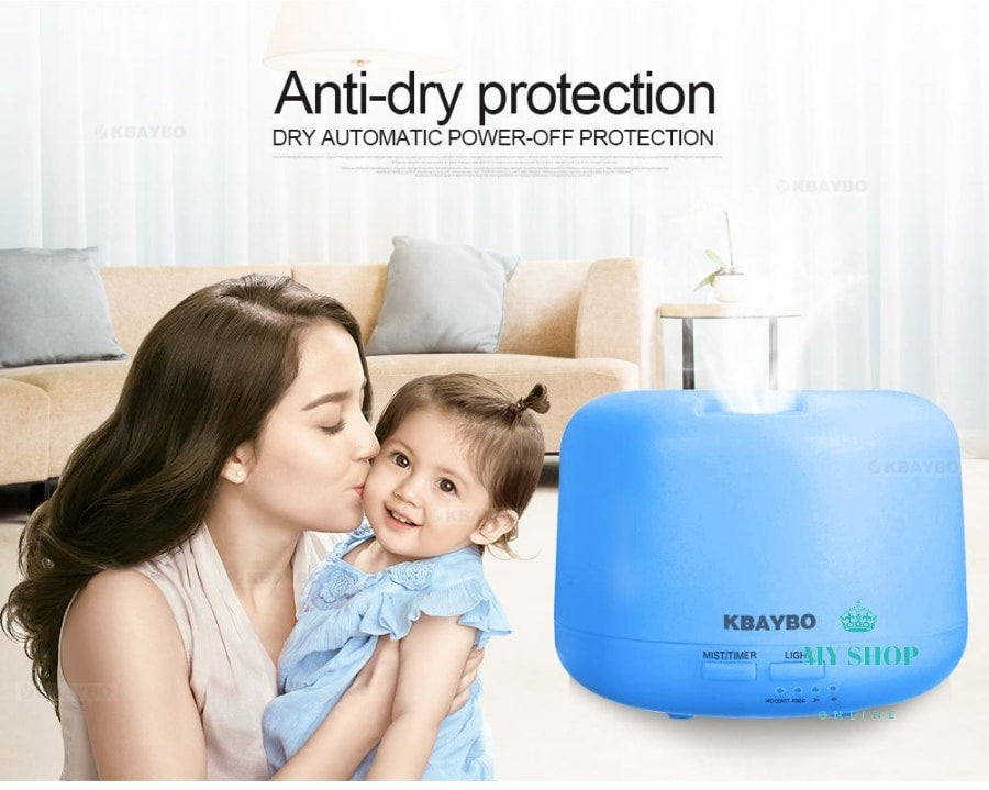 Air Aroma Humidifier With 7 Color Lights - myshoponline.com