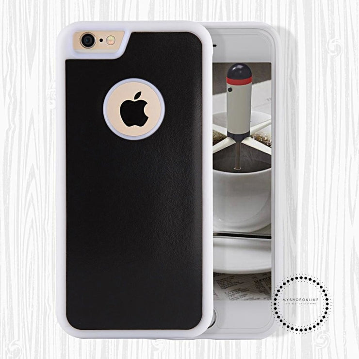 Anti Gravity Phone Bag Case For iPhone X 8 7 6S Plus Antigravity TPU Frame Magical Nano Suction Cover Adsorbed Car Case - myshoponline.com