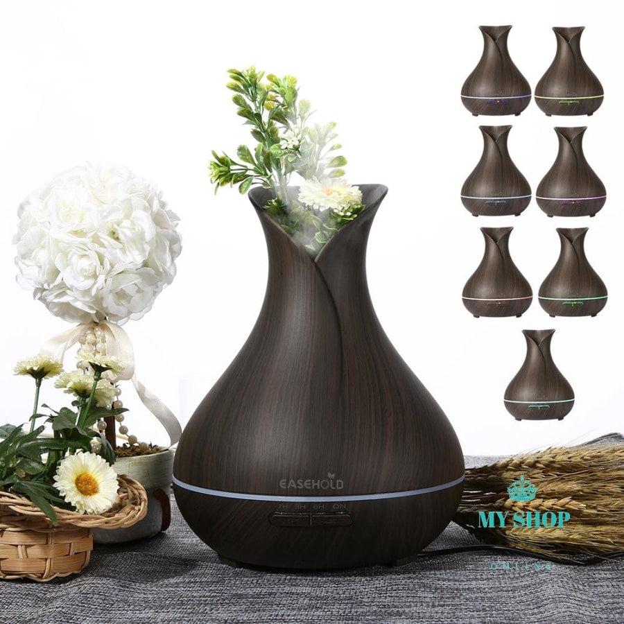 Aroma Essential Oil Diffuser Ultrasonic Air Humidifier - myshoponline.com
