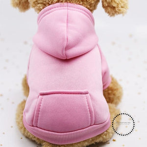 Autumn Winter Pet Dog Clothes Cotton Puppy Dog Clothes For Dogs Hoodie XS-2XL Pets Coats Pets Products Ropa Perro French Bulldog - myshoponline.com