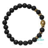 Black Gold Bracelet Men - myshoponline.com