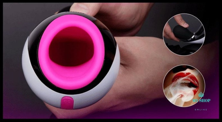 Bluetooth Electric Automatic Masturbator 7 Modes Vibrating - myshoponline.com
