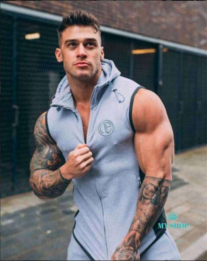 Bodybuilding Hoodies Mens set sportwear clothes sweatshirt Hoodies + Pants - myshoponline.com