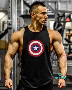 Bodybuilding Stringer Tank Tops Men