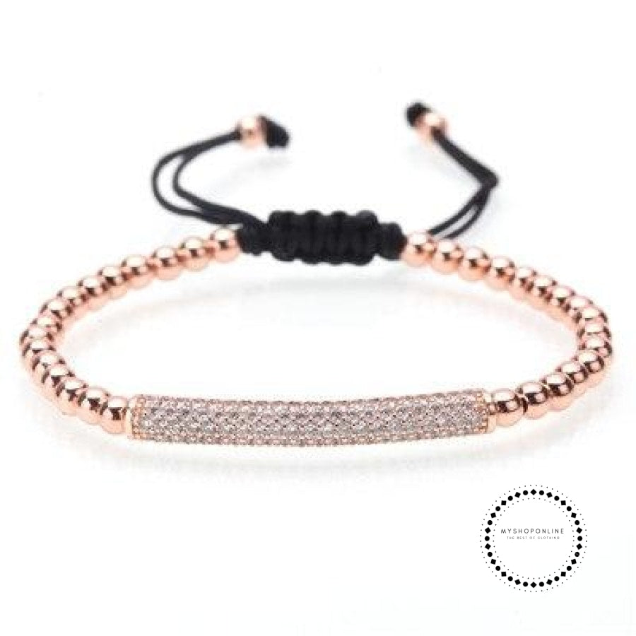 Bracelet Men/bead/stainless Steel/gold/luxury/bracelets For Men Jewelry Style G / 160Mm-250Mm