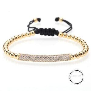 Bracelet Men/bead/stainless Steel/gold/luxury/bracelets For Men Jewelry Style H / 160Mm-250Mm