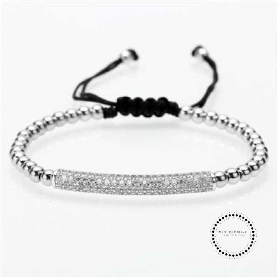 Bracelet Men/bead/stainless Steel/gold/luxury/bracelets For Men Jewelry Style I / 160Mm-250Mm