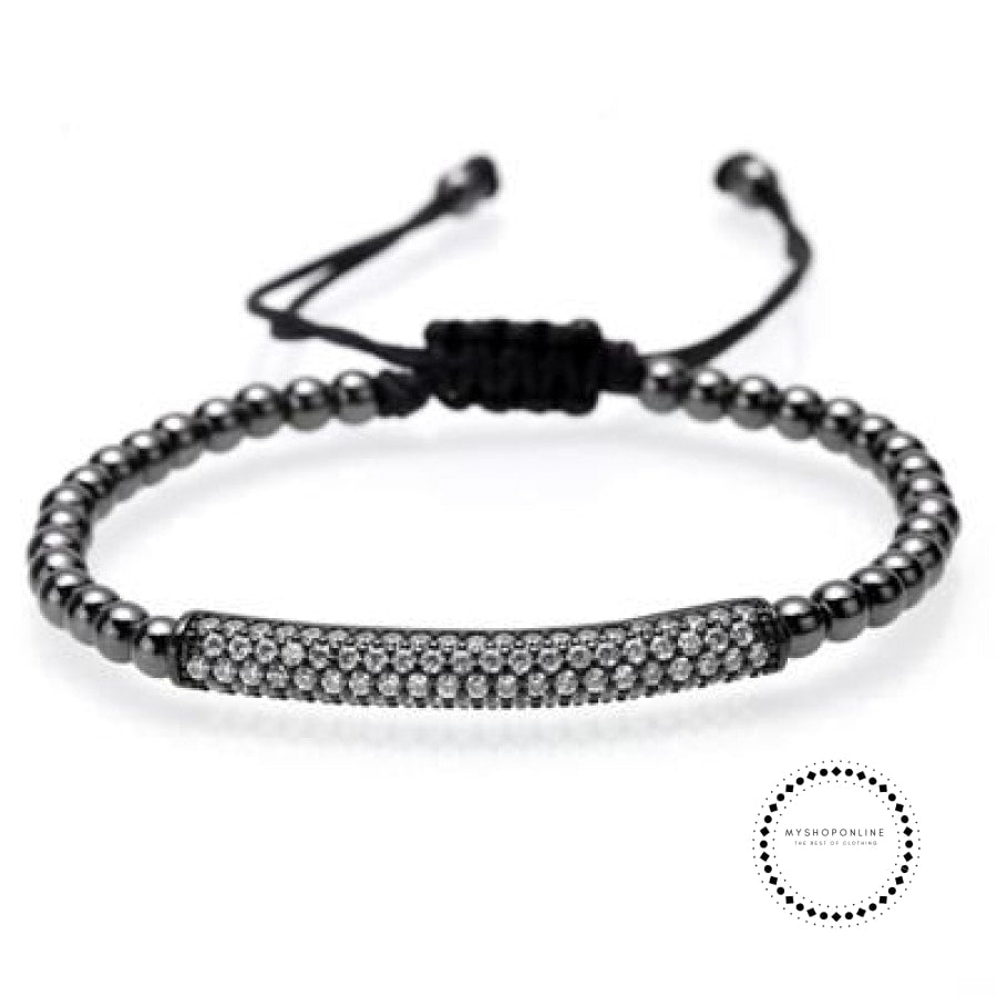 Bracelet Men/bead/stainless Steel/gold/luxury/bracelets For Men Jewelry Style J / 160Mm-250Mm