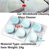 Car Care Windshield Window Concentrated Cleaner Compact Effervescent - myshoponline.com