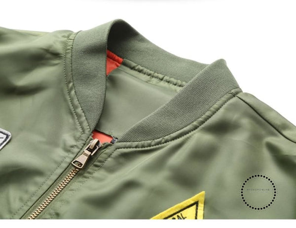 Casual Air Force Flight Jacket Men Plus Size 6XL Military tactical jacket Pilot Bomber Jacket - myshoponline.com