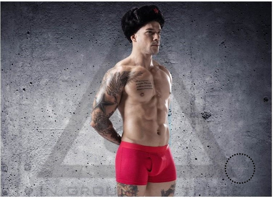 Cotton Sexy Men Underwear Boxer Fashion Shorts Bulge Pouch Soft Underpants US EU Comfortable Male Boxer Shorts - myshoponline.com