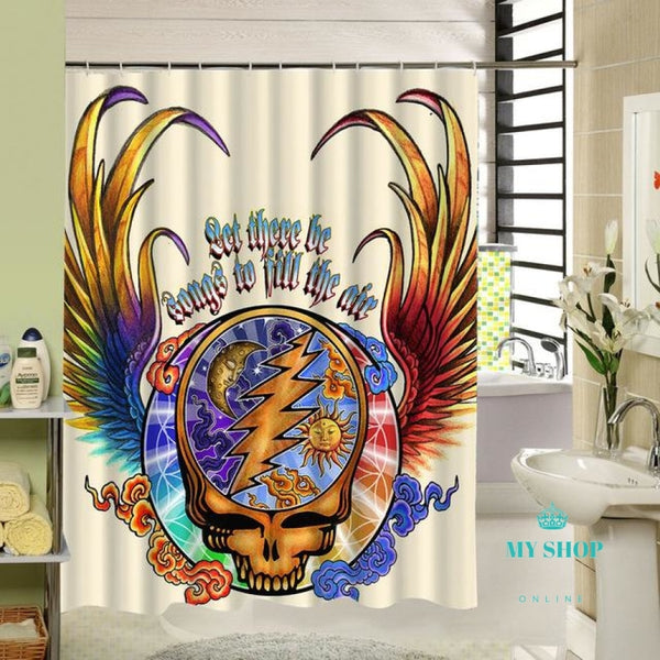 Customized 3d Shower Curtain Bathroom - myshoponline.com
