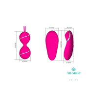 Electric Vibrating Silicone Vagina Tightening Kegel Exercise Weight Balls Accesorios