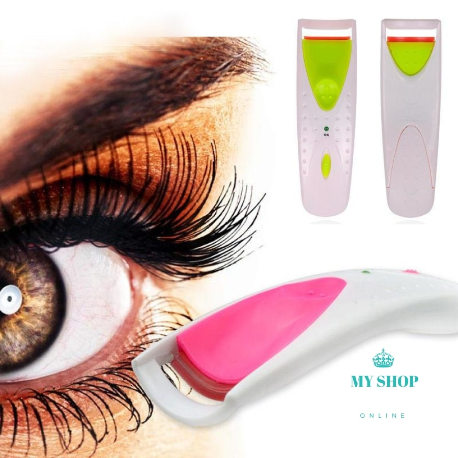 Eyelash curler with electric heating - myshoponline.com