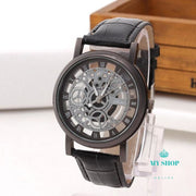 Fashion Business Skeleton Watch Men