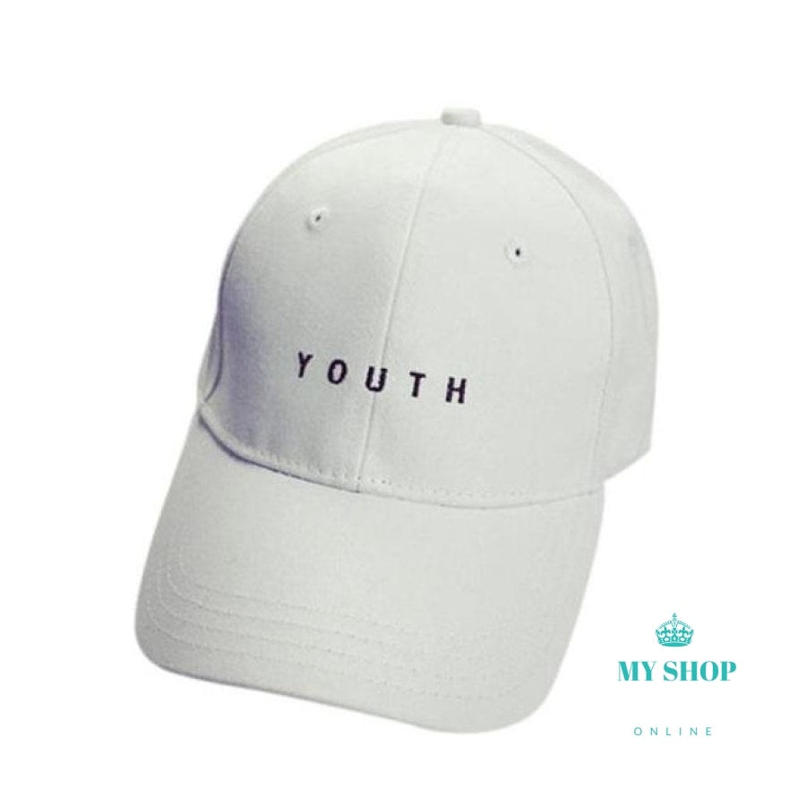 Fashion Cap Women Men Summer Spring Cotton Caps Women Letter Solid Adult baseball Cap Black White Hat Snapback Women Cap 2016 - myshoponline.com