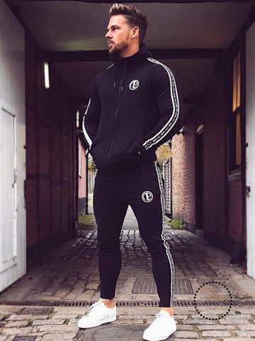 Suit Thick Pant Men Tracksuit Jacket For Sweatsuit Sporting Winter Fashion Hooded Sportswear Set zIfxqgS
